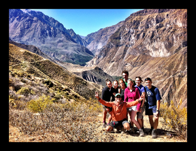 Team in the Colca Canyon
