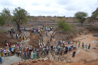 Sand Dam - Kenya Summer Project